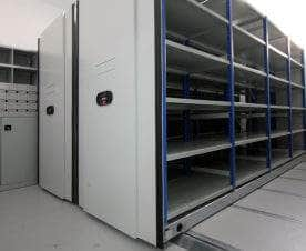 Electric Mobile Shelving
